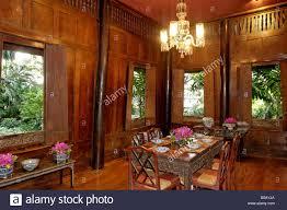 interior of jim thompson u0027s thai house bangkok thailand