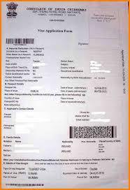 7 india tourist visa application form agile resume