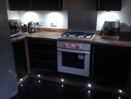 Kitchen Plinth Lights Unit And Plinth Lighting Contemporary Kitchen Glasgow