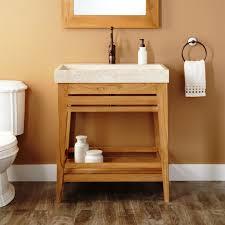 Teak Bathroom Storage Teak Bathroom Furniture For Natural Home Design Ideas
