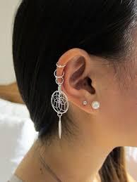 top earing best 25 top ear piercing ideas on cartilage earrings
