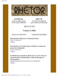 Annexe Iii Modèle D Arrêté Emportant Blâme Les Rhetor Vol 01 2004 Pdf Available