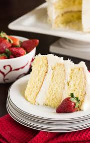 almond cake with amaretto filling and almond buttercream the
