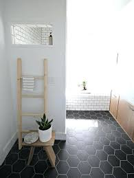 small tiled bathroom ideas hex floor tile hexagon bathroom small 25 verdesmoke hexagon