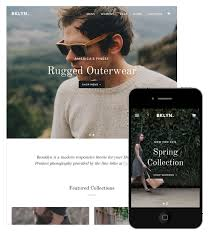 13 stunning responsive ecommerce website templates for your