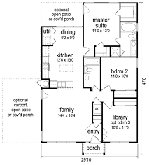 Contemporary Open Floor Plan House Designs 211 Best House Plans Images On Pinterest Small Houses Master