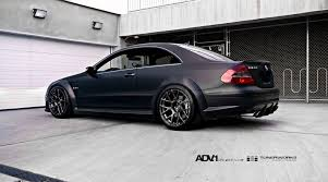 mercedes clk amg black series mercedes clk63 amg black series gets the matte black treatment
