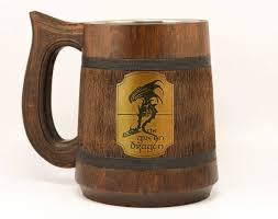 green dragon mug 23oz mens gift lord of the rings stein