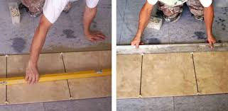 Laying Ceramic Floor Tile How To Lay A Tile Floor Today S Homeowner