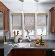 sensational blinds for the kitchen windows large window treatments