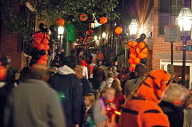 the best streets for trick or treating in boston