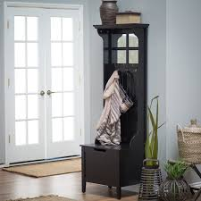 Entryway Bench With Rack Bench Stunning Entryway Tree Bench With Storage Mudroom Lockers