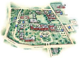Washington University Campus Map by Maps Directions U0026 Hotels Converse College