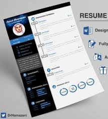 Unique Resumes Templates 12 Professional Resume Templates In Word Format Xdesigns