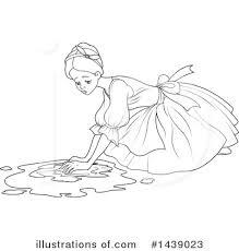 cinderella clipart 1439023 illustration pushkin