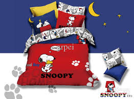 Snoopy Bed Set Snoopy Comforter Bedding Set Animie For
