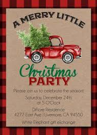 christmas party invitations u2013 announce it