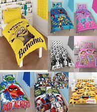 Children S Duvet Cover Sets Angry Birds Bedding Ebay