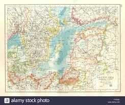 Baltic Sea Map Baltic Sea U0026 Newly Created States Post Ww1 East Prussia Plebiscite