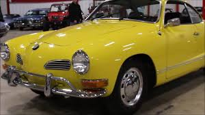 volkswagen yellow 1971 volkswagen karmann ghia yellow youtube