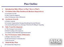 sales plan example sales business plan example sales plan