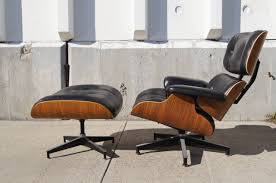 furniture fabulous authentic eames lounge chair and ottoman