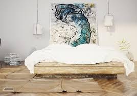 Bedroom Art Ideas Interior Home Design - Bedroom art ideas