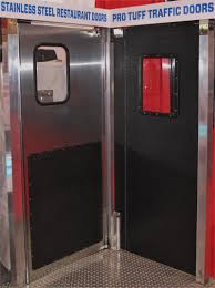 Double Swing Doors For Kitchen Restaurant Kitchen Traffic Doors In Stock Stainless Steel Double
