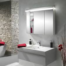 Bathroom Mirror Cabinets With Led Lights by Recessed Bathroom Mirror Cabinet Uk Bathroom Design Ideas 2017