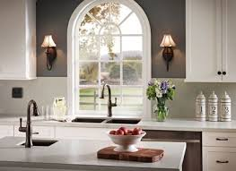 Addison Kitchen Faucet by Moen Kitchen Faucets Oil Rubbed Bronze Ellajanegoeppinger Com