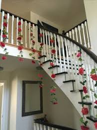 chic floral u0026 easy home wedding decor garlands from local