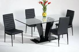 Glass Dining Tables And 6 Chairs Glass Dining Room Table And Chairs Amazing Fresh Glass Dining