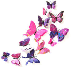 online get cheap wall sticker window head aliexpress com 3 d wall stickers double butterfly sticker label adhesive of bedroom the head of a bed