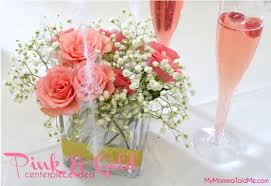 Vase Centerpieces For Baby Shower Pink Flower Arrangements For Baby Shower 11 High Resolution