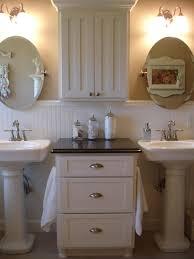 pedestal sink storage bathrooms cabinets bathroom countertop storage sink storage