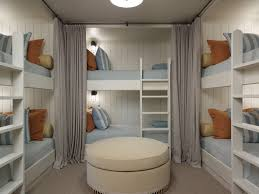 i just like lots of bunk beds the curtains should be individual