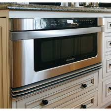 Kitchen Explore Your Kitchen Appliance by Maximize The Space In Your Kitchen By Installing A Sharp Microwave