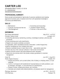 Cvs Pharmacy Resume Prometric Testing Center Test Center Administrator Resume Sample