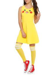 Pikachu Costume Pokemon Pikachu Costume Dress Topic