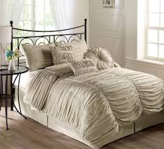 bedroom design chic champagne taupe comforter ideas dazzling
