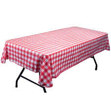 Where To Buy Table Linens - amazon com red and white vinyl table cloth with flannel backing