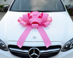 30 happy birthday car bow with magnetic base large