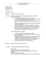 Senior Accountant Sample Resume by Download Internal Auditor Senior Accountant In Houston Tx Resume