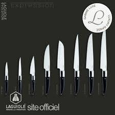 couteau cuisine laguiole ménagère laguiole 24 pièces métal couverts laguiole
