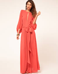 maxi dress with sleeves sleeve chiffon maxi dress ideas fashionoah