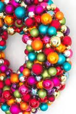 diy christmas wreath made of pine needles xmas table decor stock