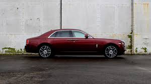 rolls royce ghost red interior know your plaice fish and chips in a rolls royce ghost motoring