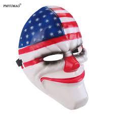 city halloween masks joker henchman clown halloween mask from batman arkham city