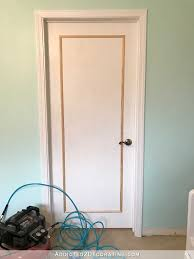 Adding Trim To Plain Cabinets by An Easy U0026 Inexpensive Way To Update Flush Flat Panel Interior