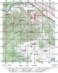 Texas Tech Campus Map The Odyssey Of A Co 21 25 April 1968 Camp Evans